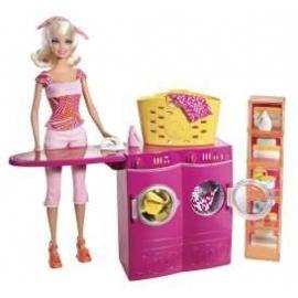 Barbie Furniture and doll wash set