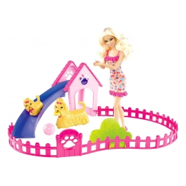 Puppy Play Park Doll & Playset
