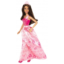Barbie Party Princess brunette