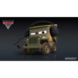 Disney Cars Sergeant Speciale eenheid