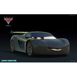 Disney Cars Lewis Hamilton