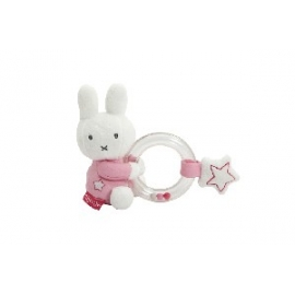 Nijntje Denim Pink Ringrammelaar