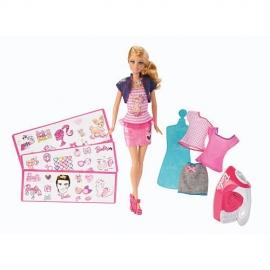 Barbie met Strijkkleding