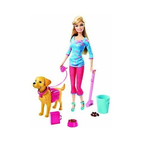 Barbie met Puppy