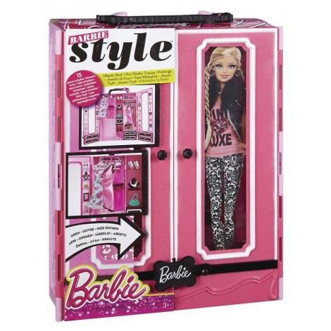 Barbie luxe kledingkast