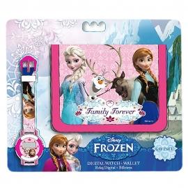 Frozen Horloge + Portemonnee