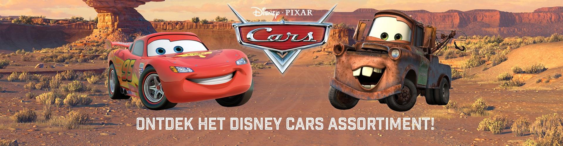 Ruime collectie Disney Cars artikelen!